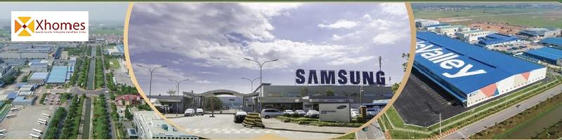 Nhà máy Samsung cạnh An Bình Golden Town