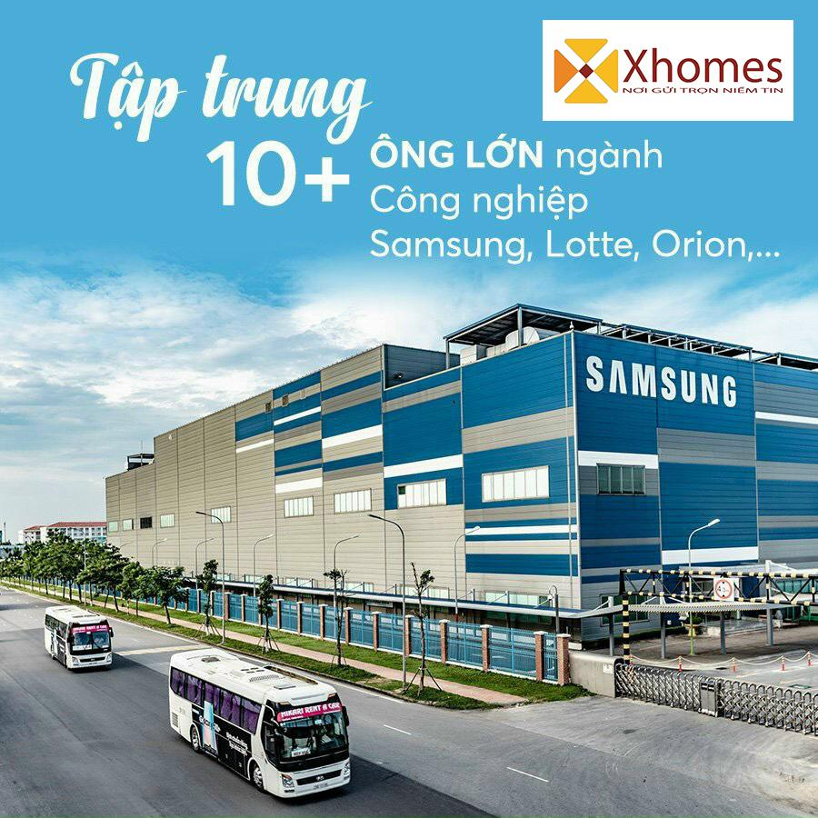 Nơi tập trung các ông lớn ngành công nghiệp nhứ SAMSUNG, Orion, Lotte