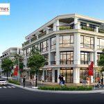 Phối cảnh Shophouse dự án Cát Tường Smart City