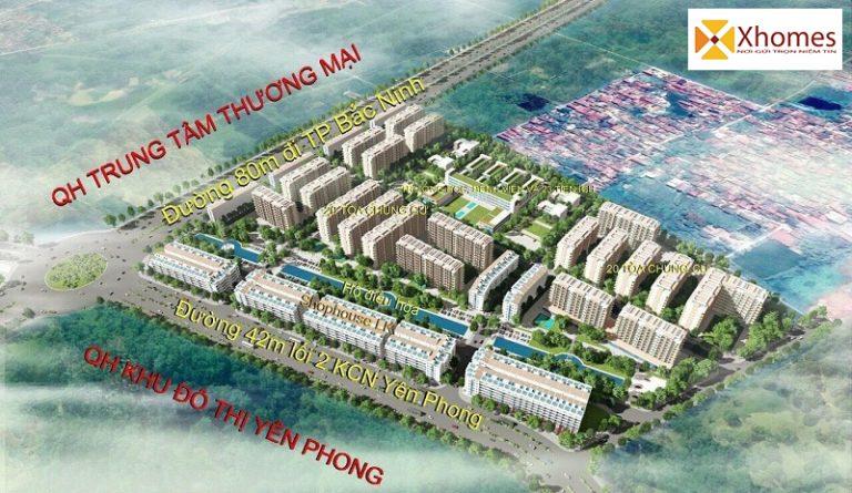 Bản quy hoạch dự án Cát Tường Smart City Yên Phong, Bắc Ninh