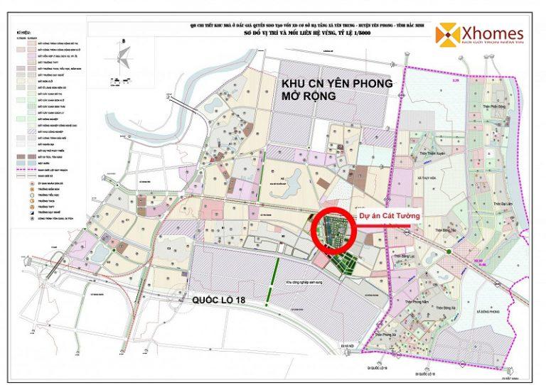 Bản quy hoạch khu nhà ở dự án Cát Tường Smart City