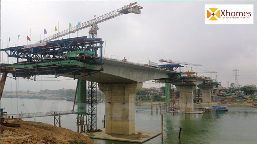 Công trình Xây Dựng Cầu Hà Bắc 2 của tỉnh Bắc Ninh