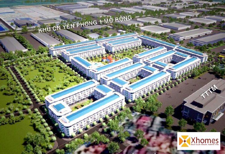 Phối cảnh dự án Khu Đô Thị Mới Vạn Xuân Liên Yên Phong Bắc Ninh