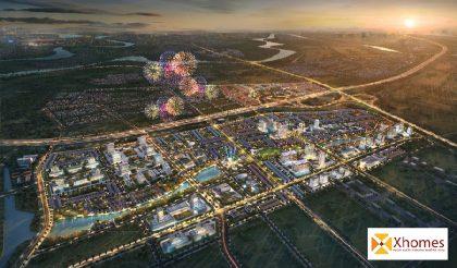 Phối cảnh tổng quan của dự án Kim Đô Policity Yên Phong