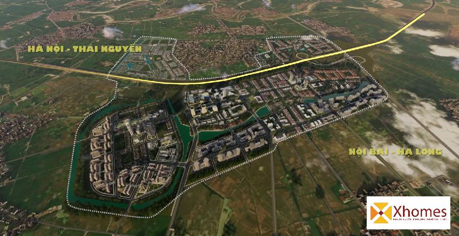 Vị Trí Chiến lược khu đô thị Kim Đô Policity