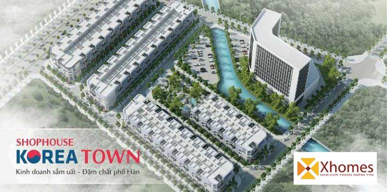 Dự án Nhà Phố Thương Mại Korean Town Yên Phong Bắc Ninh