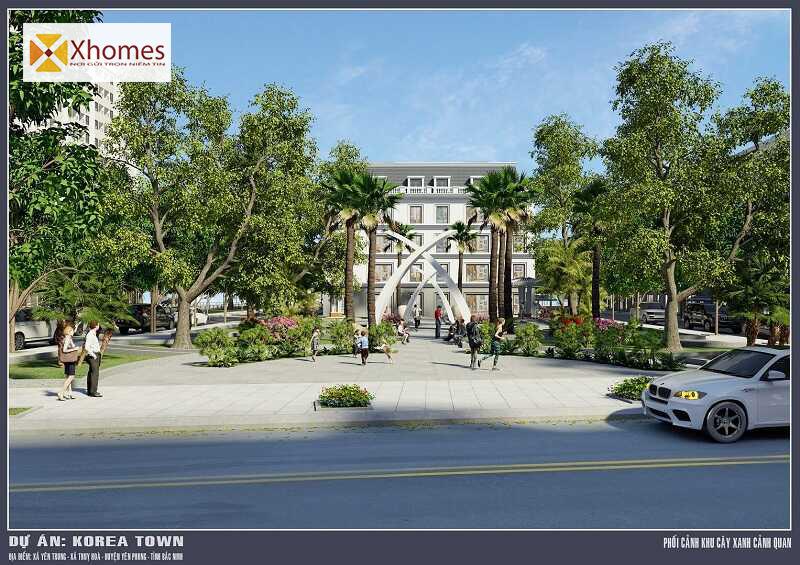 Danh sách tiện ích tại dự án Korea Town Yên Phong