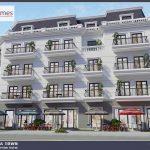 Phối cảnh Shophouse của Dự án Korea Town Yên Phong Bắc Ninh