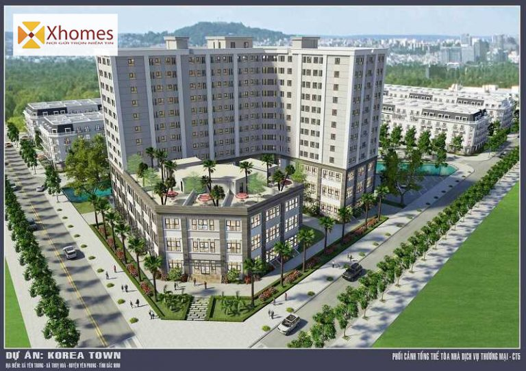 Liên hệ trực để sở hữu Shophouse Korea Town Yên Phong - Bắc Ninh