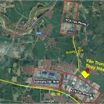 Vị trí khu đô thị mới Yên Trung Thụy Hòa Yên Phòng Bắc Ninh