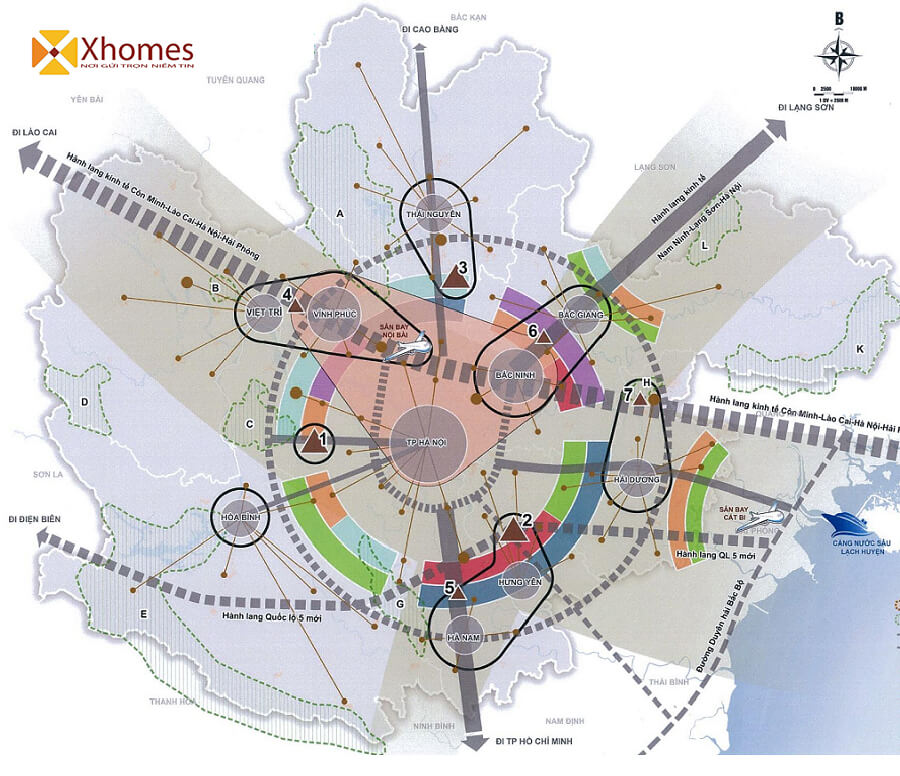 Vị trí giao thông kết nối thuận tiện cho mọi thứ