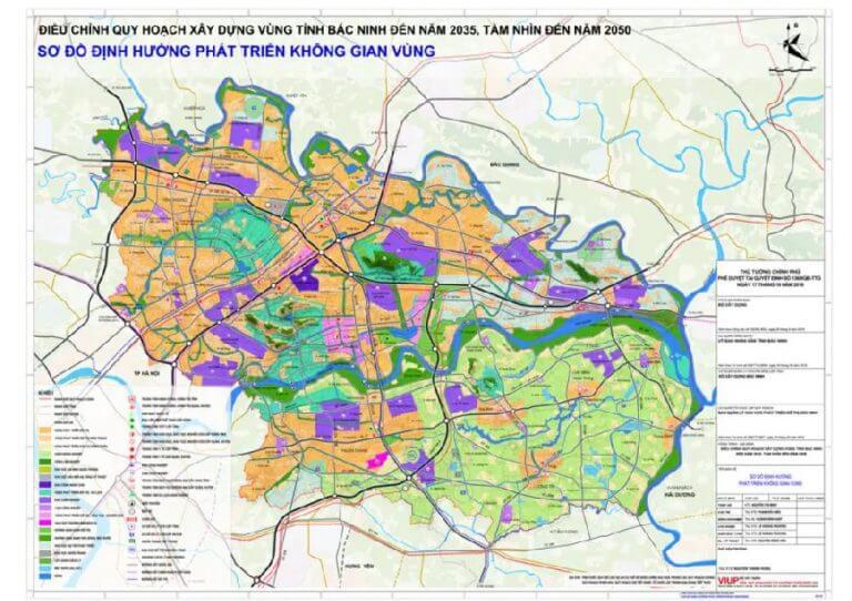 Bản đồ & kế hoạch quy hoạch tỉnh Bắc Ninh