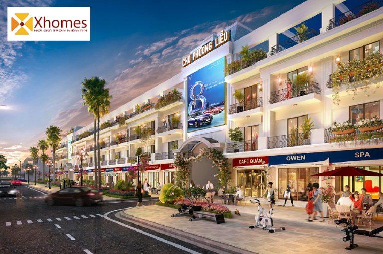 Khu chợ thương mại Phương Liễu nằm trong dự án