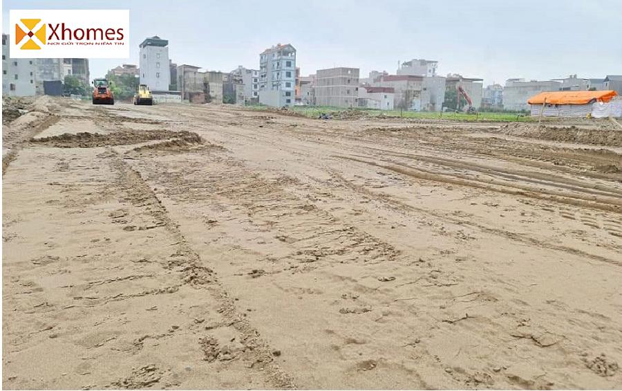 Hình ảnh thực tế tiến độ thi công dự án Do Nha Quế Võ Bắc Ninh
