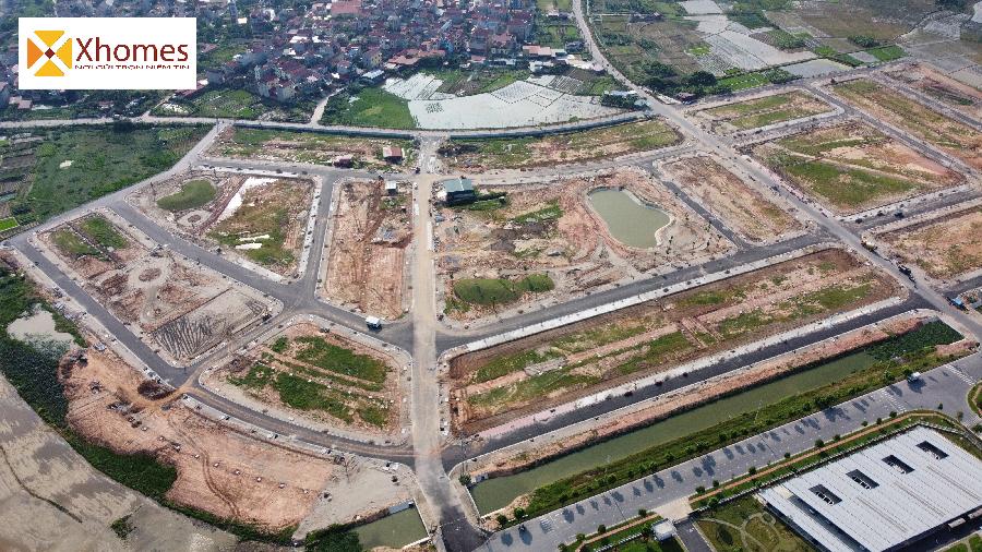 Hình ảnh minh họa thực tế dự án đất nền An Bình Vọng Đông