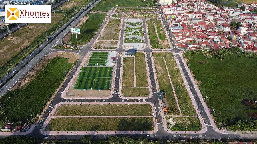 Dự án đất nền thông Mẫn Xá Yên Phong Băc Ninh