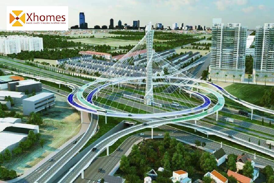 Đồng bộ hóa hạ tầng nội khu xung quanh những dự án này