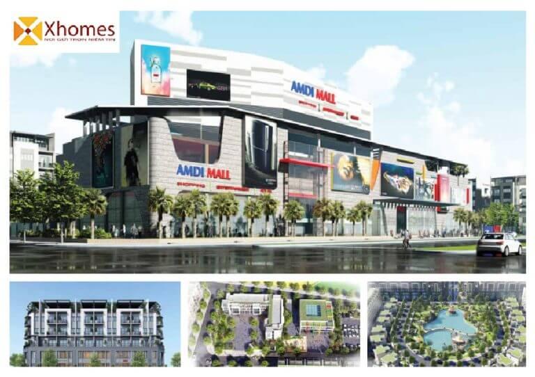 Quy hoạch dự án AMDI Green City Việt Đoàn Bắc Ninh