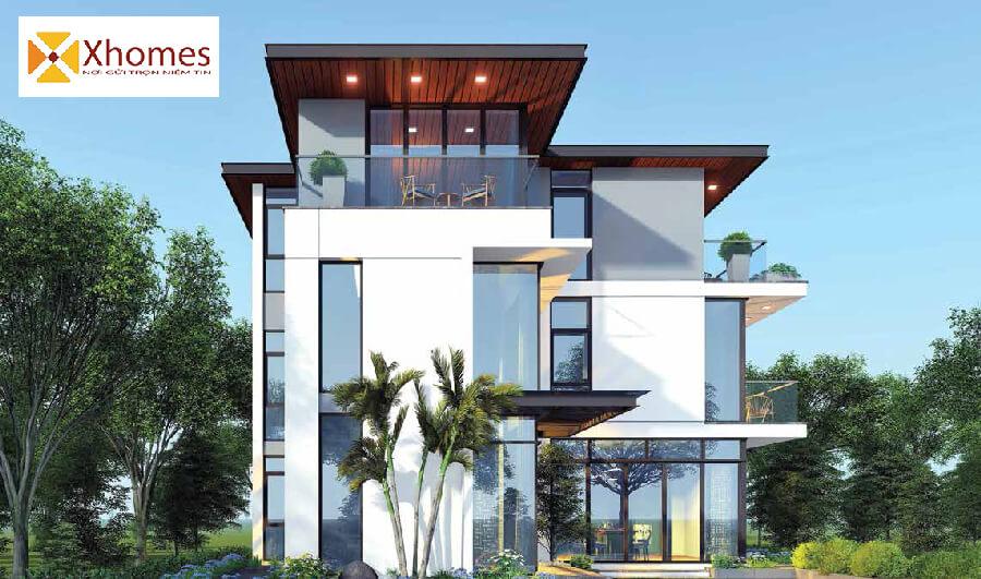 Sản phẩm Biệt thự của dự án AMDI Green City đăng cấp