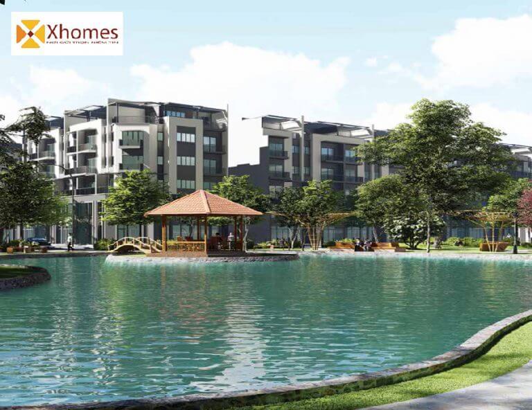 Phối cảnh tổng thể của dự án AMDI Green City Bắc Ninh