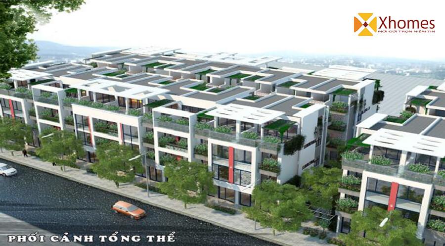 Phối cảnh tổng thể dự án khu đô thị Viglacera Đông Tiến Yên Phong