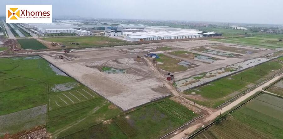 Hình ảnh thực tế dự án Dũng Liệt Yên Phong