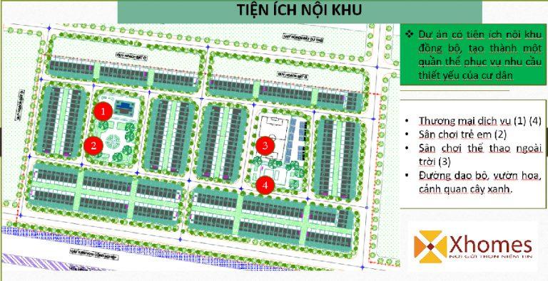 Tiện ích nội khu dự án Khu Đô Thị Dũng Liệt Green City