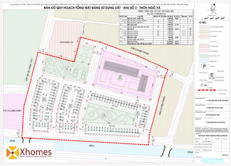 Quy hoạch tổng thể dự án khu đô thị Long Châu Riverside