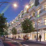 Phối cảnh Shophouse dự án khu đô thị Long Châu Riverside