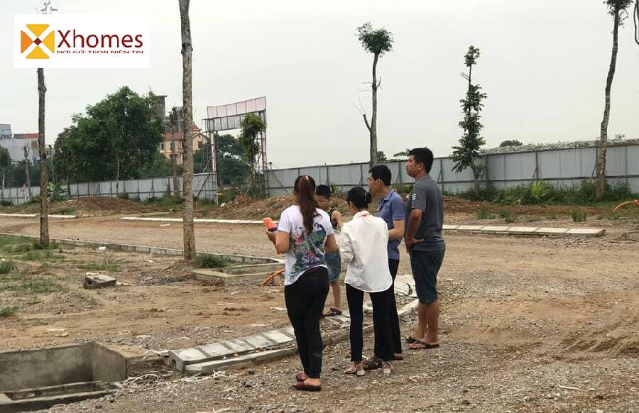 Hình ảnh khách xem đất dự án KĐT QCL Yên Phong Bắc Ninh