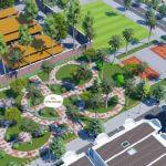 Một số phối cảnh tiện ích cây xanh dự án KĐT mới QCL Yên Phong Bắc Ninh