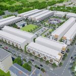 Phối cảnh tổng thể dự án đất nền Tam Đa New Center Yên Phong Bắc Ninh