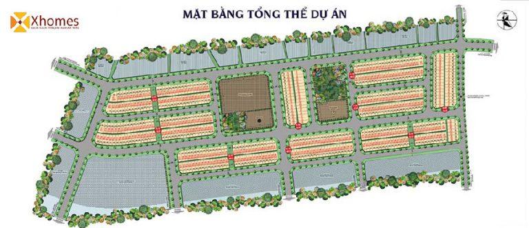 Mặt bằng tổng thể dự án Yên Phụ New Life Bắc Ninh