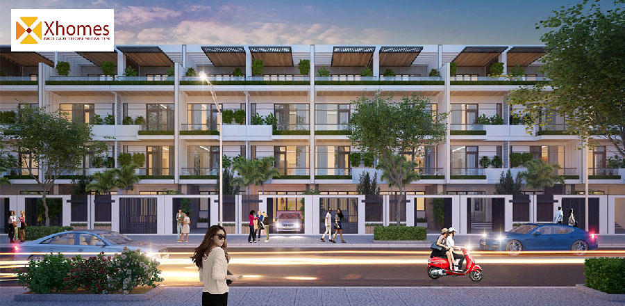 Thiết kế phối cảnh Shophouse Yên Phụ New Life Yên Phong Bắc Ninh