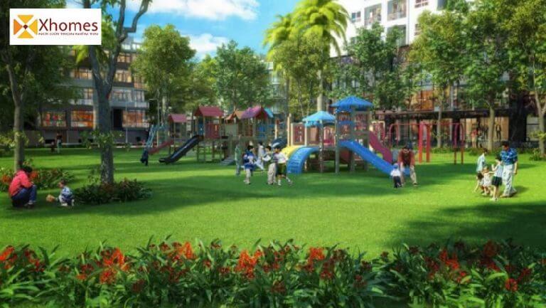 Công viên cây xanh tại dự án An Bình Ấp Đồn