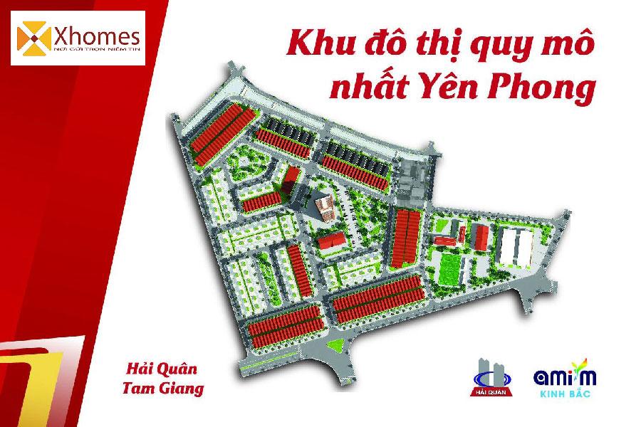 Hệ thống tiện ích đăng cấp dự án Khu đô thị mới Hải Quân Tam Giang