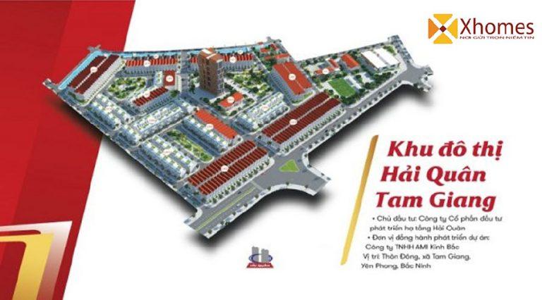 Tổng quan dự án Khu Đô Thị Hải Quân Tam Giang Yên Phong Bắc Ninh