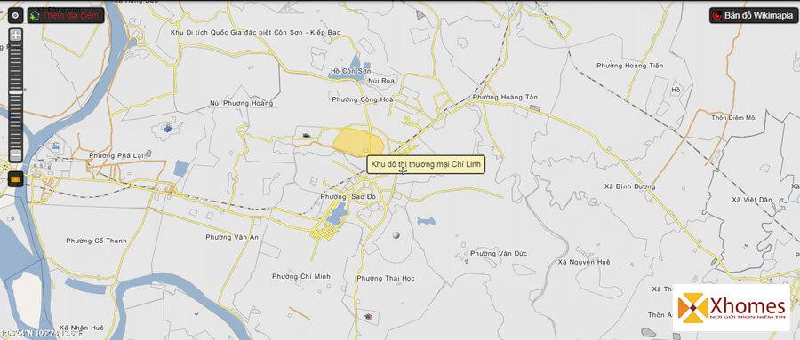 Bất động sản đất nền tại Chí Linh đang có biến động lớn