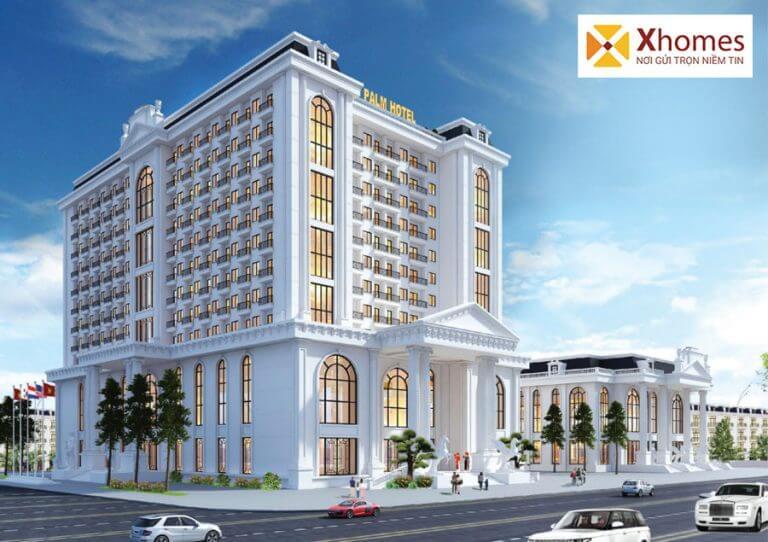 Khách sạn quốc tế 4 sao Palm Hotel tại dự án Chí Linh Palm City