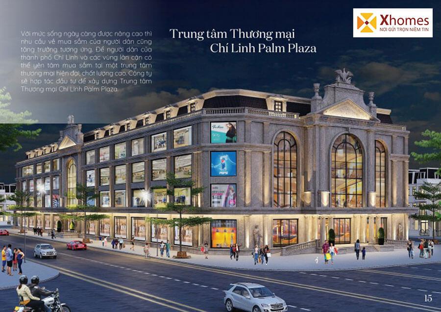 Trung tâm thương mại Chí Linh Palm Plaza