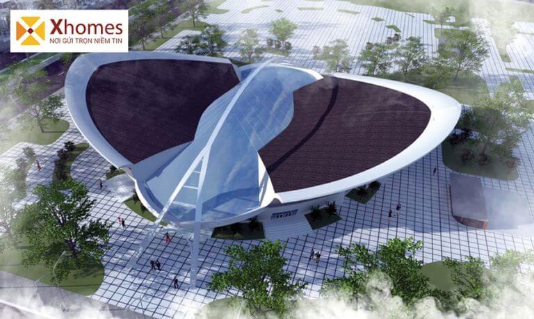Trung tâm thể thao trong nhà của dự án