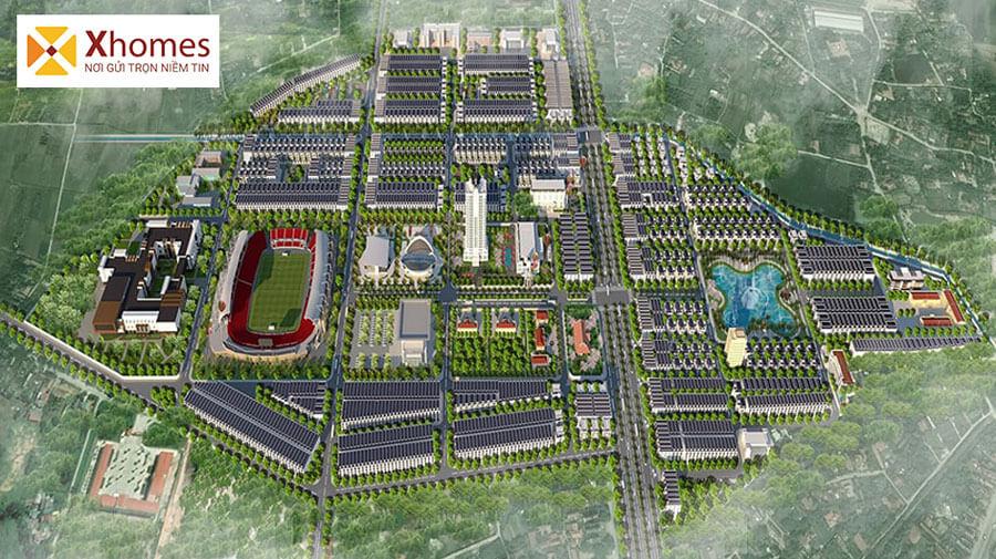 Khu đô thị Chí Linh Palm City – Phối Cảnh Tổng Thể