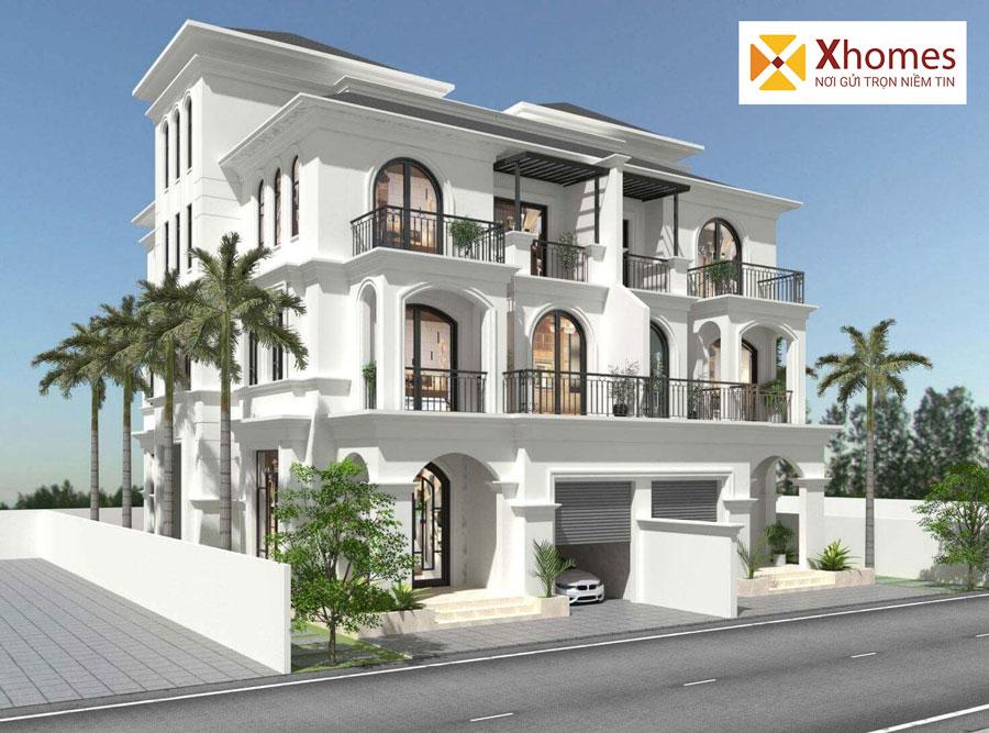 Biệt thự sang trọng, đẳng cấp và đầy quyến rũ tại Palm City Hải Dương