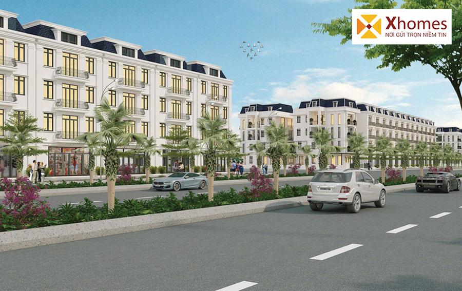 Nhà phố thương mại (Shophouse) tài dự án sẽ luôn là nơi sầm uất nhất trong khu vực