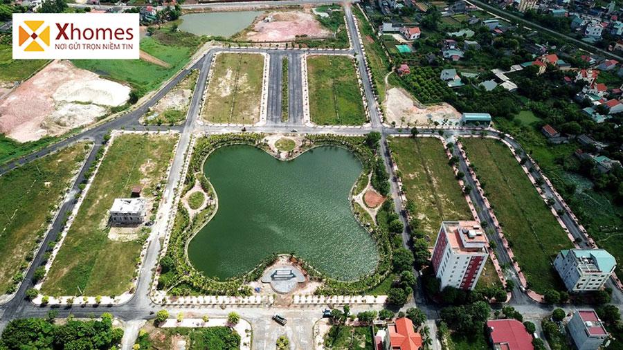 Hình ảnh thực tế hồ điểu hòa tại dự án Chí Linh Palm City