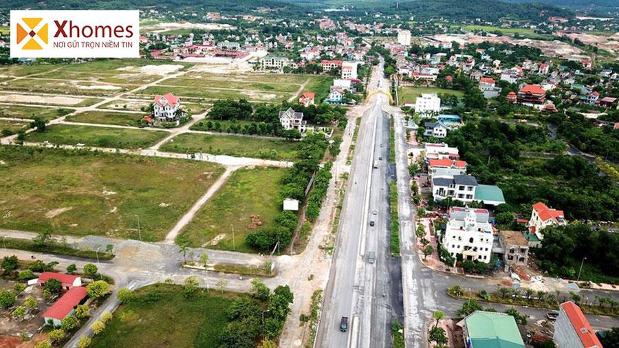 Hình ảnh thực tế dự án khu đô thị Chí Linh Palm Hải Dương