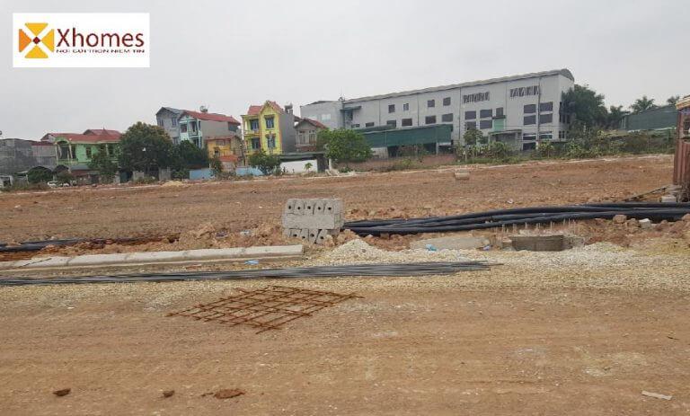 Hình ảnh thực tế từ dự án khu nhà ở Dabaco Lạc Vệ Bắc Ninh