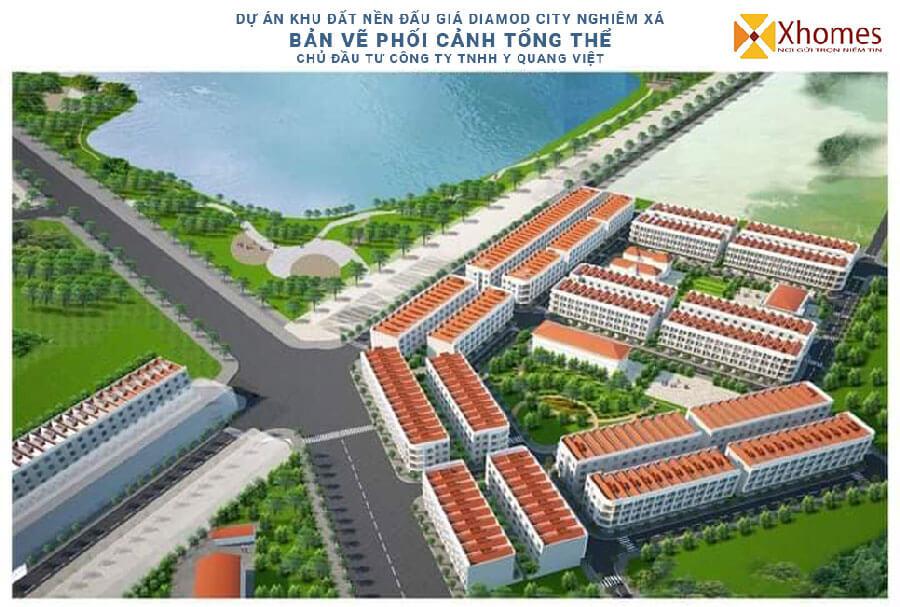 Dự án Đất Nền Khu Đấu Giá Diamond City Nghiêm Xá Yên Phong