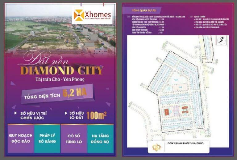 Đất Nền Khu Đấu Giá Diamond City Nghiêm Xá