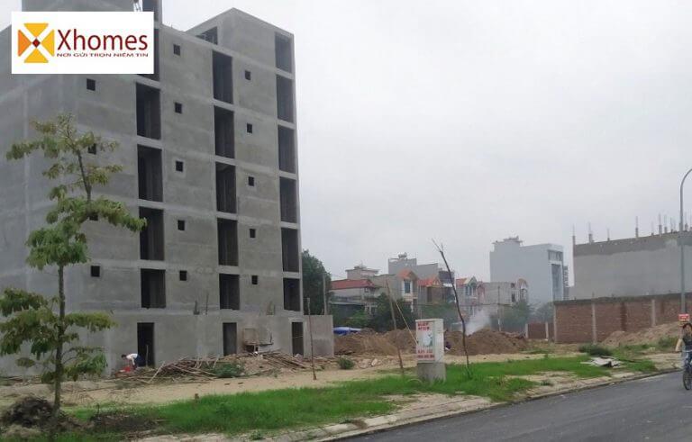 Hình ảnh thực tế của dự án Diamond City Nghiêm Xá Yên Phong Bắc Ninh